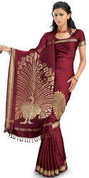 Chandrika Crepe Silk Saree