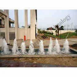 Large Geyser Jet Fountain