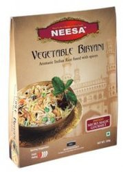 Ready To Eat Neesa Vegetable Biryani