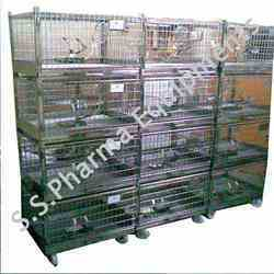 Steel Rabbit Cages