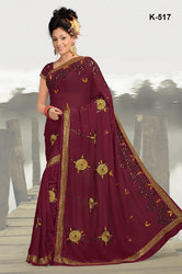 Cutdana Work Saree