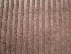 Split  Zebra Print Leather Brown