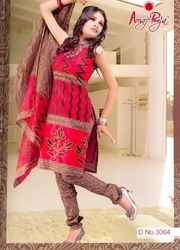 Ladies Fancy cotton printed Salwar Suit