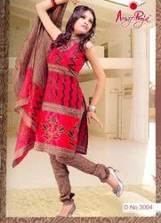 Ladies Fancy cotton printed Salwar Suit