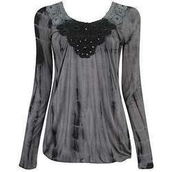 Womens Beaded Tops