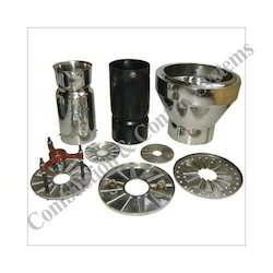 Oil Gas Burner Diffuser Plates and Blast Tube