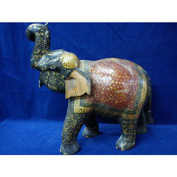 Wooden Elephant Statue