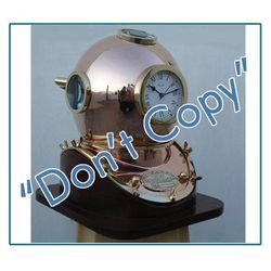 Metallic Diving Helmets