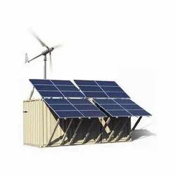 Solar Hybrid System(Wind - Solar)