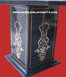 Inlay Marble Pedestal