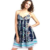 Printed Tunic Dresses