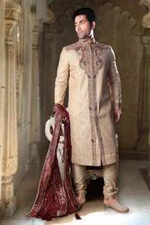Gracious Look Semi Sherwani