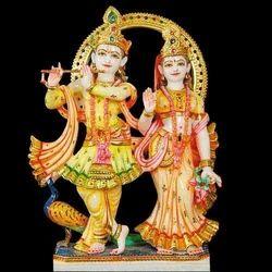 Radha Krishna Statue - Ka-2057