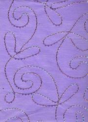 Sequin Embroidered Handmade Papers