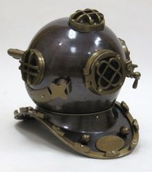 Aluminum Diver Helmet