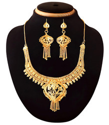Bridal Gold Plated Necklace