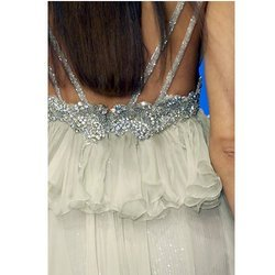 Wedding Gown with Crystal Embellishment