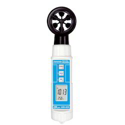 Anemometer With Humidity Indicator