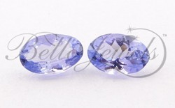 Tanzanite Loose Gemstone Pair