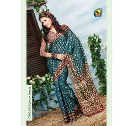 Floral Designer Sarees