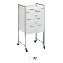 White Color Trolley