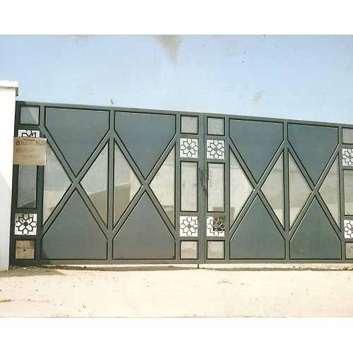 metal front gate images