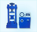 Semi Automatic Digital Compression Testing Machine (Electrically Cum Manual Hand Operated)