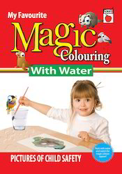 Magic Coloring with Water Child Safety Books