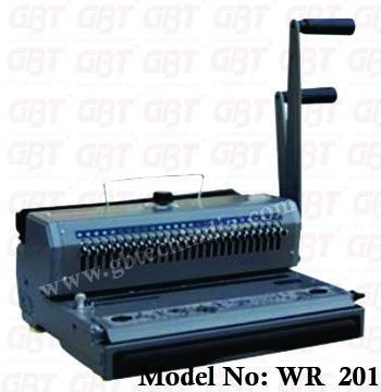 WR 301 / WR 201 (Wiro Binding Machine)