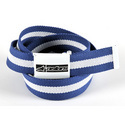 Webbing Belt With Flap Buckle