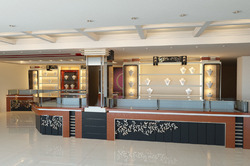 Jewellery showroom agni for Jewellery showroom interior design images