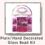 hand decorated glass bead kit