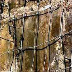 Stone Holding Net Steel Wire Rope