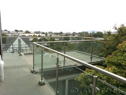 SS Railing With Glass / SS Railings