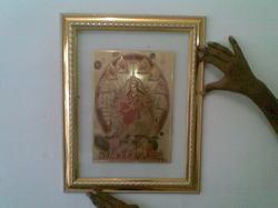 Gods Picture Frames in Gold Foil
