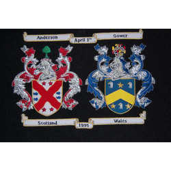 Anderson Crest Embroidery