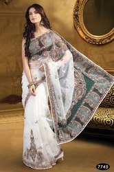 New Embroidered Sarees