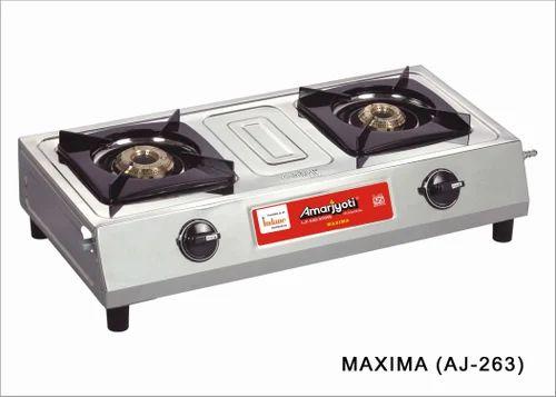 Amarjyoti 2 Burner Lpg Stoves Maxima Stoves Manufacturer