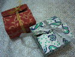 Handmade Paper Favor Boxes