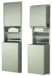 Recessed Convertible Paper Towel Dispenser