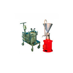 Filter Press & Colloid Mill
