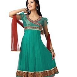 Decorative Anarkali Suit