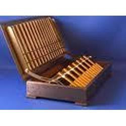 Wooden Cigarette Box With Rack