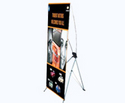 bridge banner stand