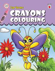 Crayons Coloring - Cartoons Books
