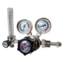 Regulator With Flow Meter