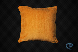 Golden Yellow Velvet Cushion Cover
