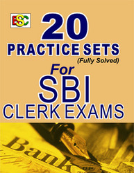 20 Practice Set for SBI Clerk Exam