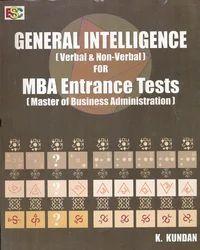 General+Intelligence+for+MBA+Entrance+Exam