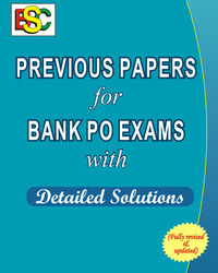 Previous Papers for Bank Po (Eng) Exams